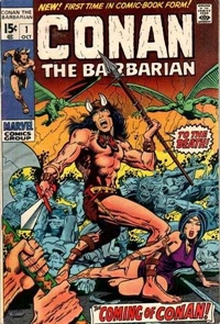 Conan the Barbarian #001