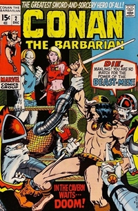 Conan the Barbarian #002