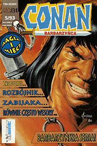 Conan Barbarzyńca #5