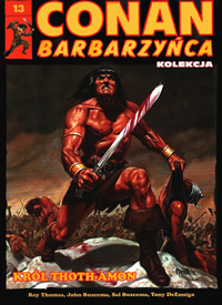 Conan Barbarzyńca Kolekcja #13