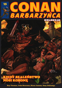 Conan Barbarzyńca Kolekcja #15