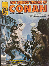 The Savage Sword of Conan the Barbarian (Marvel) #058