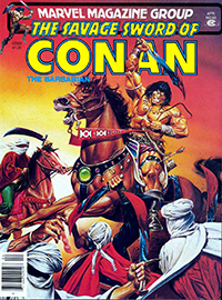 The Savage Sword of Conan the Barbarian (Marvel) #063