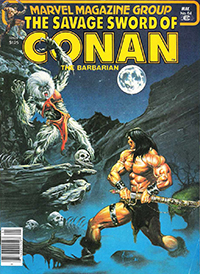 The Savage Sword of Conan the Barbarian (Marvel) #064