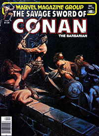 The Savage Sword of Conan the Barbarian (Marvel) #071
