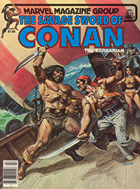 The Savage Sword of Conan the Barbarian (Marvel) #075