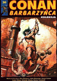 Conan Barbarzyńca (Hachette) #20 - Kły Węża