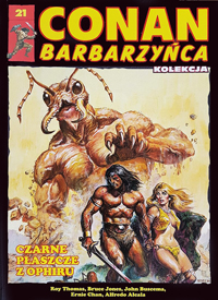 Conan Barbarzyńca (Hachette) #21 - Czarne płaszcze z Ophiru