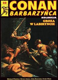 Conan Barbarzyńca (Hachette) #22 - Groza w labiryncie