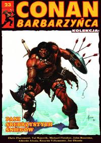 Conan Barbarzyńca (Hachette) #23 - Pani srebrzystych śniegów