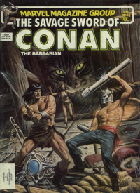 The Savage Sword of Conan the Barbarian (Marvel) #092