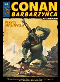 Conan Barbarzyńca (Hachette) #24 - Demon w blasku ognia