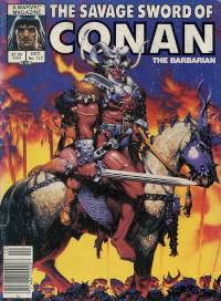 The Savage Sword of Conan the Barbarian (Marvel) #117
