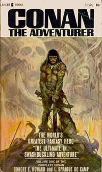 Robert E. Howard, L. Sprague de Camp: Conan The Adventurer