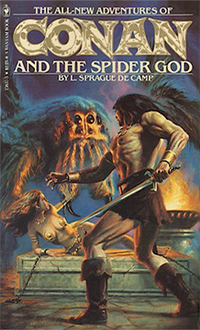 L. Sprague de Camp: Conan and the Spider God