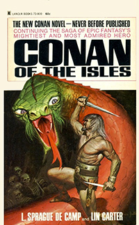 L. Sprague de Camp, Lin Carter: Conan of the Isles