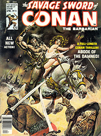 The Savage Sword of Conan the Barbarian #11