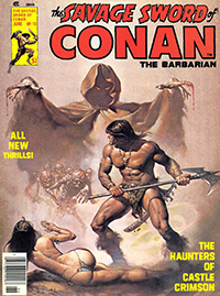 The Savage Sword of Conan the Barbarian #12