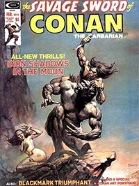 The Savage Sword of Conan the Barbarian #4