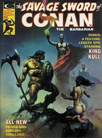 The Savage Sword of Conan the Barbarian #9