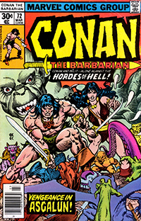 Conan the Barbarian #072