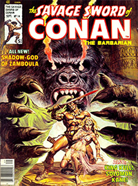 The Savage Sword of Conan the Barbarian #14
