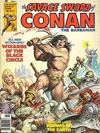 The Savage Sword of Conan the Barbarian #16