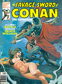 The Savage Sword of Conan the Barbarian #18