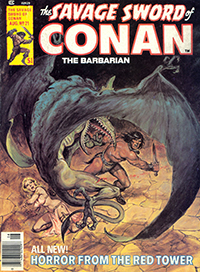 The Savage Sword of Conan the Barbarian #21