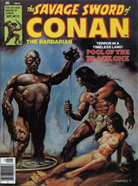 The Savage Sword of Conan the Barbarian #22
