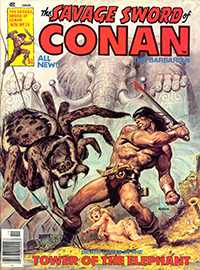 The Savage Sword of Conan the Barbarian #24