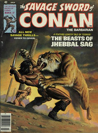 The Savage Sword of Conan the Barbarian #27