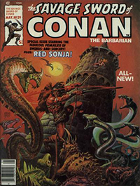 The Savage Sword of Conan the Barbarian #29