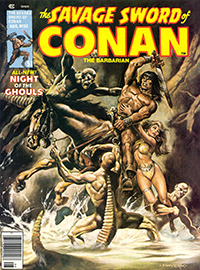 The Savage Sword of Conan the Barbarian #32