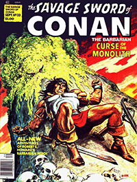 The Savage Sword of Conan the Barbarian #33