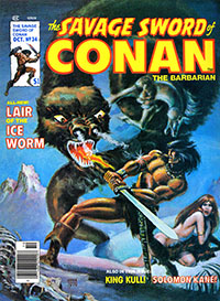 The Savage Sword of Conan the Barbarian #34