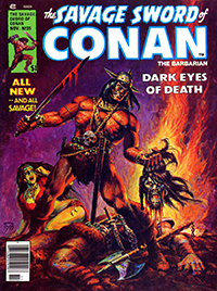 The Savage Sword of Conan the Barbarian #35