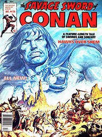 The Savage Sword of Conan the Barbarian #36
