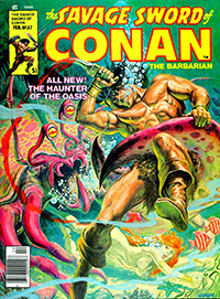 The Savage Sword of Conan the Barbarian #37