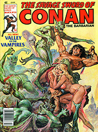 The Savage Sword of Conan the Barbarian #38