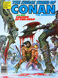 The Savage Sword of Conan the Barbarian #39