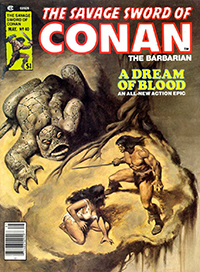 The Savage Sword of Conan the Barbarian #40