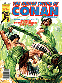 The Savage Sword of Conan the Barbarian #42
