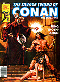 The Savage Sword of Conan the Barbarian #43