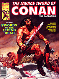 The Savage Sword of Conan the Barbarian #44