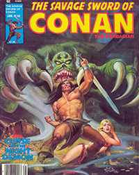 The Savage Sword of Conan the Barbarian #48