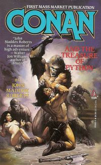 John Maddox Roberts: Conan and the Treasure of Python