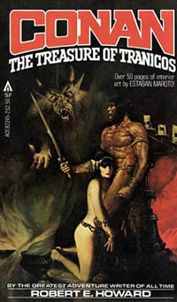 Robert E Howard: Conan. The Treasure of Tranicos