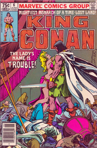 King Conan (Marvel) #06