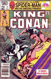 King Conan (Marvel) #08
